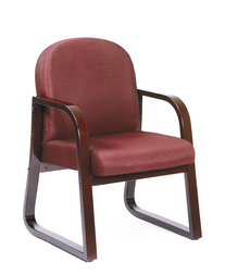 Lobby-Synthetic-Leather-Wooden-Legs-Chair-1