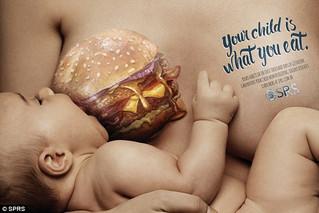 Καμπάνια για την ανθυγιεινή διατροφή στην εγκυμοσύνη: «Το μωρό σου είναι ό,τι τρως»