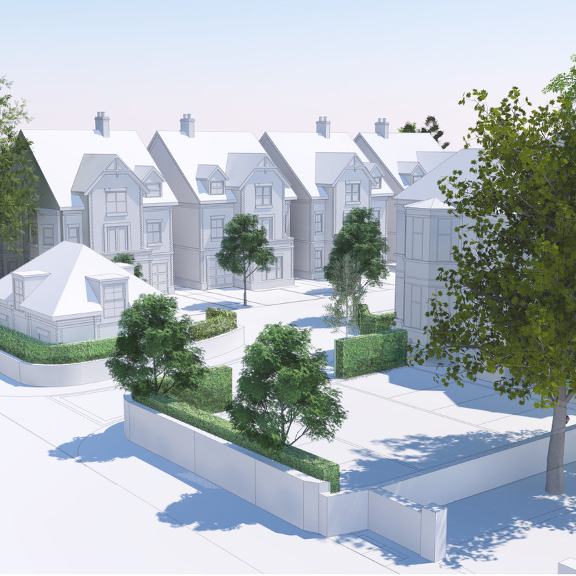 Visualisation for a residential site in Manchester
