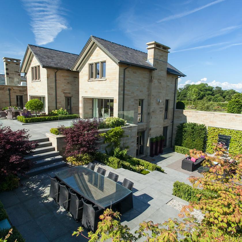 Private Garden in Lancashire
