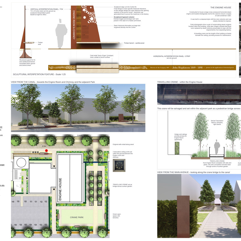 L and M Linotype Works, Altrincham -Residential masterplan and Restoration
