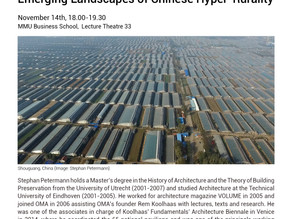 Open Lecture: Emerging Landscapes of Chinese Hyper-Rurality 14/11/2018