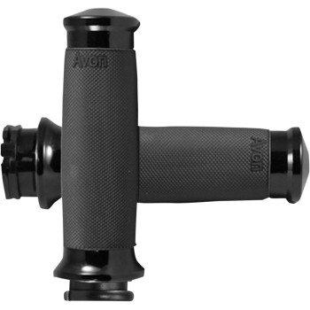 Black Custom Contour Grips CC-86-ANO