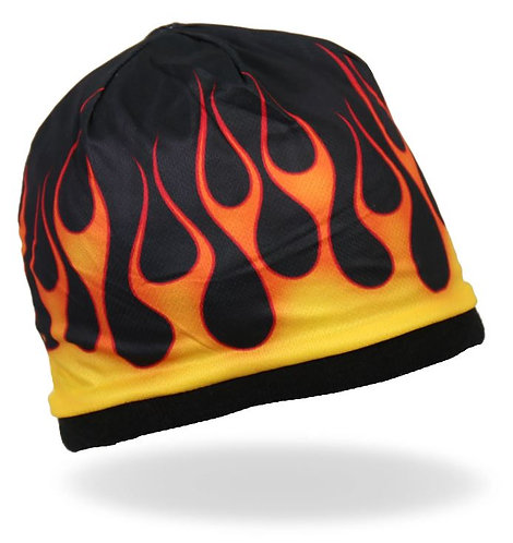Sublimated Flames Beanie