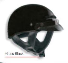 VEGA XTS- Half Helmet  Gloss Black XS