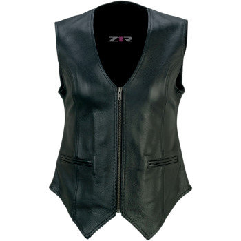 Women's Scorch Leather Vest - 2X