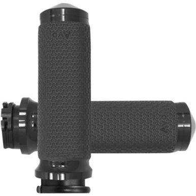Medium Anodized Vibration Dampening Memory Foam Grips MF-63A-ANO