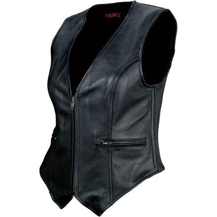 Women's 44 Leather Vest -MD