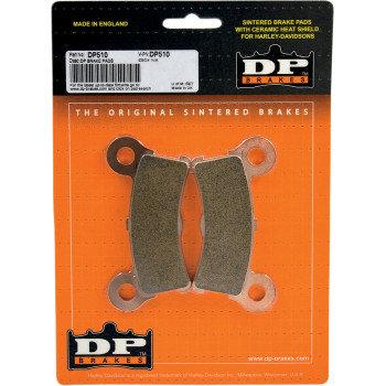 Fits 09-13 FL Trikes-DP510 Sintered Brake Pads