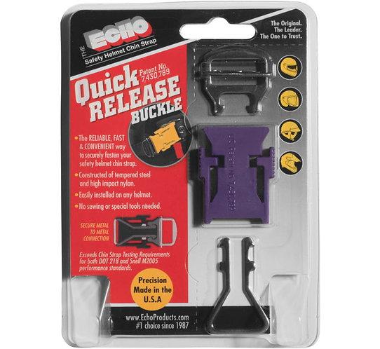 ECHO Quick Release Helmet Strap Adapter - Black