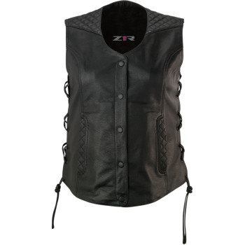 Women's Gaucha Leather Vest - SM