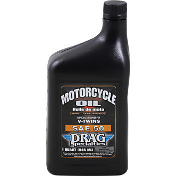 DRAG Motorcycle Engine Oil Conventional SAE 50 - 1 Qt