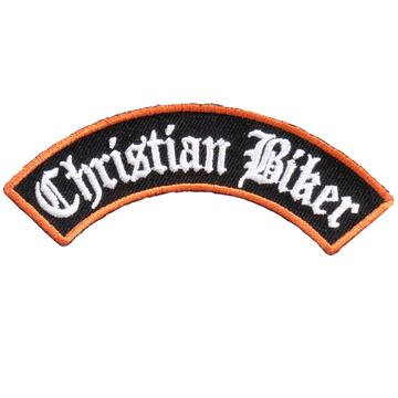 "4"" X 1"" Christian Biker Rocker Patch"