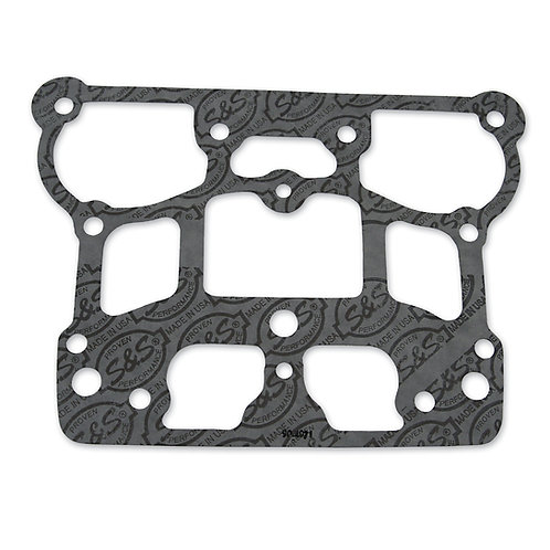 "S&S Bottom Rocker Cover Gasket, Graphite,4-1/8"" (84-99 Big Twin)"