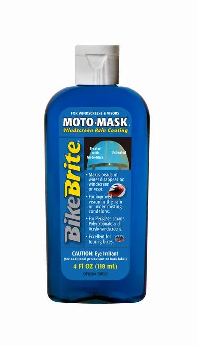 BikeBrite Moto-Mask Windscreen Rain Coating - 4 FL OZ