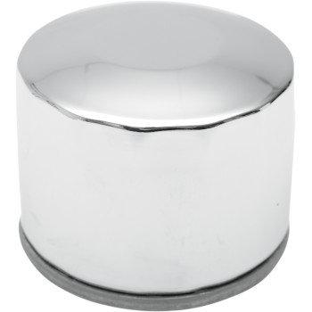 Drag Specialties Oil Filter OEM #63782-80 Chrome