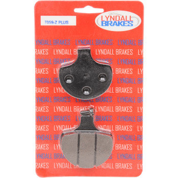 Fits 86-11 Multiple Models (See Fitment)-Lyndall 7059Z+ Brake Pads