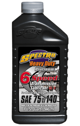 SPECTRO HD 6 Speed Transmission Lube Full Synthetic 75W-140 - 1 Qt