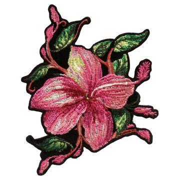"4"" X 4"" Big Pink Flower Patch"