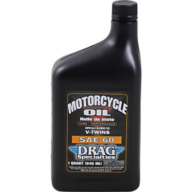 DRAG Motorcycle Engine Oil Conventional SAE 60 - 1 Qt