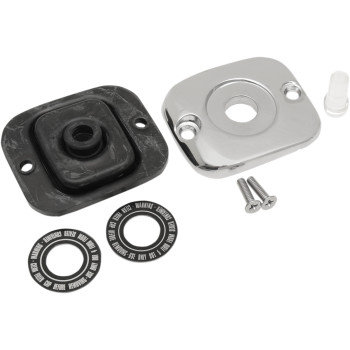 MASTER CYLINDER COVER KIT CHROME 96-17 REPLACES OEM#45004-96