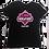 Thumbnail: LADIES BLACK V- NECK TSHIRT