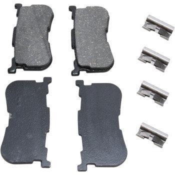 Fits 14-20 FLHTCUTG & 15-20 FLRT-Drag Specialties Brake Pads