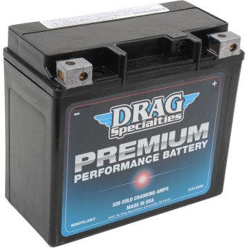 91-99FXST/FLST, 91-17FXD/WG, 99-17FLD, 00-20Softail, 07-17VRSCA -Premium Battery