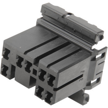 RECEPTACLE HOUSING, 8-POSITION REPLACES OEM#73158-96BK
