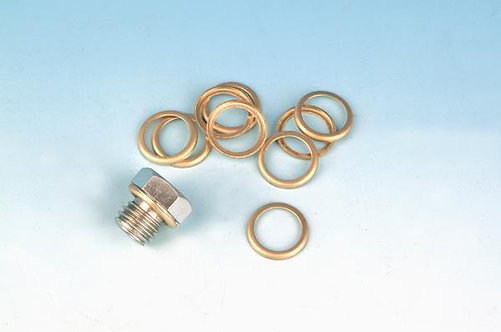 BRASS DRAIN PLUG WASHER 36-86BT REPLACES OEM#62702-52