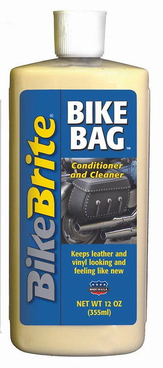 BikeBrite Bike Bag Leather and Vinyl Cond/Cleaner - 12 FL OZ