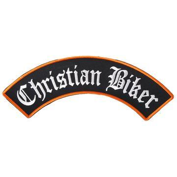 "Christian Biker Rocker 10"" X 2"" Large Patch"