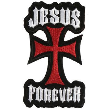 """3"""" X 5"""" Jesus Forever Patch"""