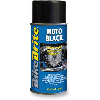BikeBrite MOTO BLACK - 9 OZ