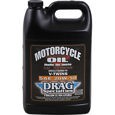 DRAG Motorcycle Engine Oil Conventional 20W-50 - 1 Gallon
