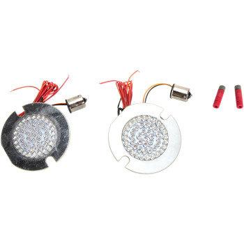Custom Dynamics LED BULB FLAT RUN/TURN