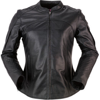 Women's 35 Special Black Leather Jacket - LG