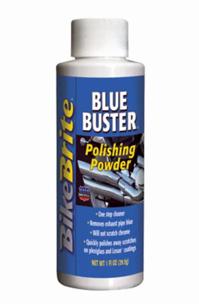 BikeBrite Blue Buster Polishing Powder - 1 OZ