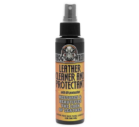 HOG WASH Leather Cleaner & Protectant - 4 OZ