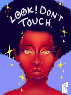 look! don't touch