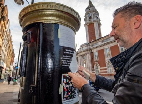Black History Month: Postboxes painted to honour Black Britons