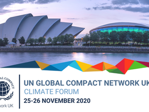 UN Global Compact Network UK: Climate Forum