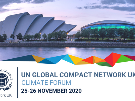 UN Global Compact Network UK: Climate Forum