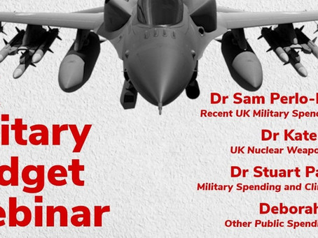 UK Military Budget Webinar