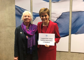 UNHS at Scottish Parliament