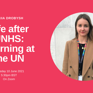 Life After UNHS: Interning at the UN- A Talk With Iuliia Drobysh
