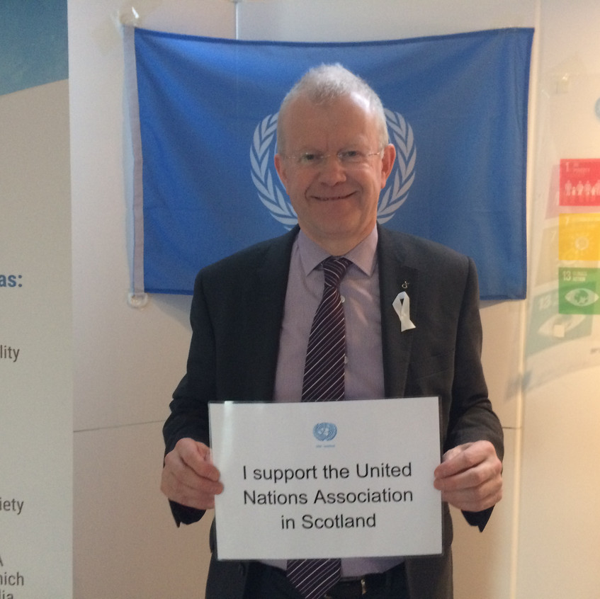 John Mason MSP shows his support for UNHS