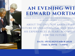 Upcoming Event: An Evening with Edward Mortimer