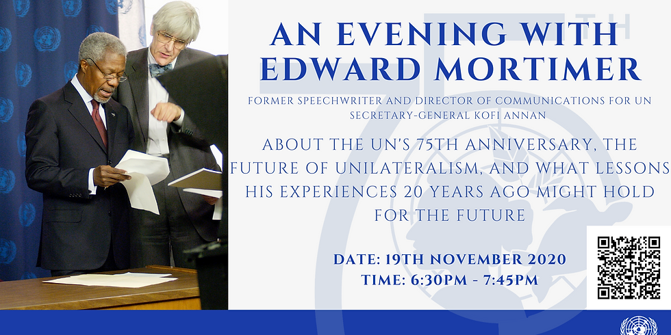 An Evening with Edward Mortimer
