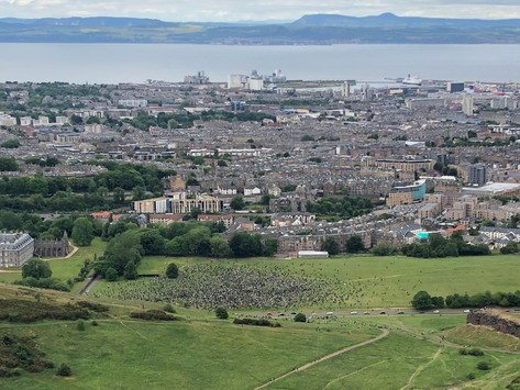 #BlackLivesMatter in Edinburgh